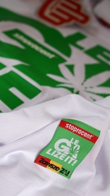 STOPROCENT KOSZULKA LEGALIZE IT WHITE
