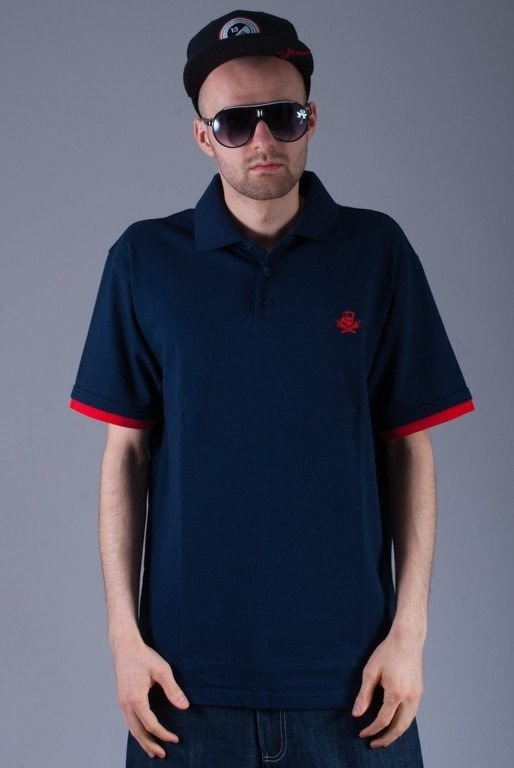 STOPROCENT KOSZULKA POLO HC TRUST NAVY BLUE