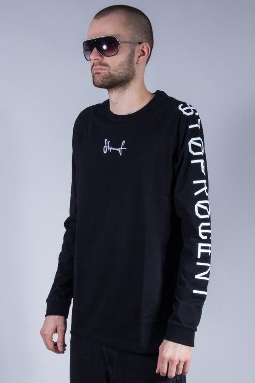 STOPROCENT LONGSLEEVE CROSS BLACK