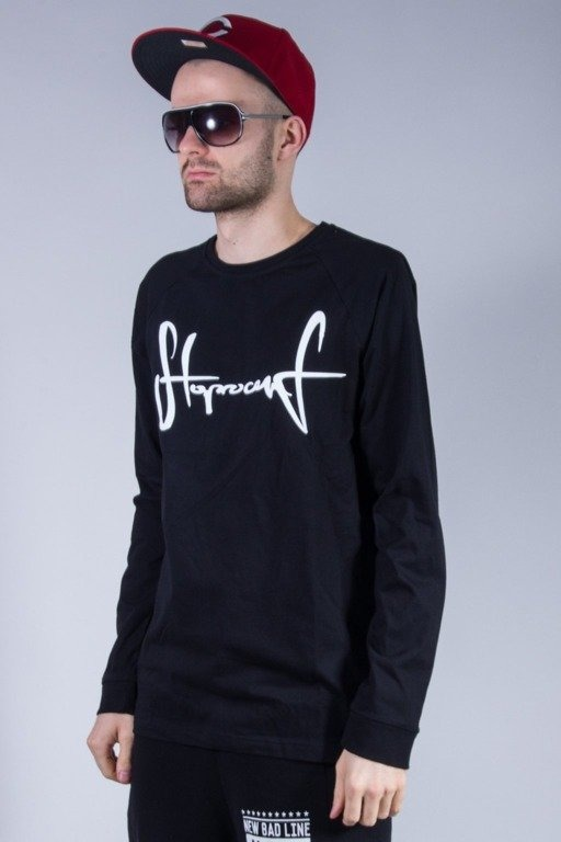 STOPROCENT LONGSLEEVE TAG16 BLACK