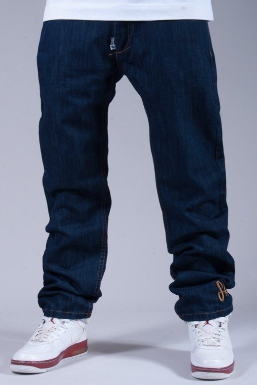 STOPROCENT SPODNIE JEANS THIN BLUE