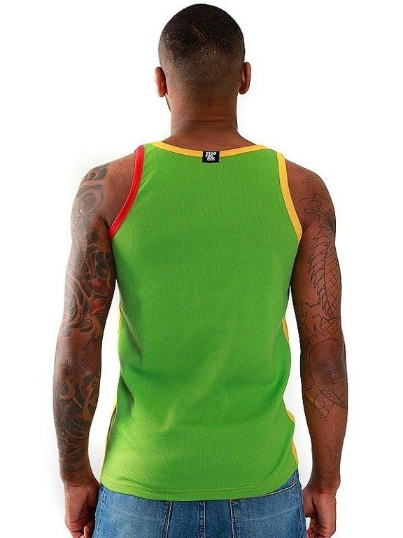 STOPROCENT TANK TOP LONG TAG 2015 MULTI YELLOW