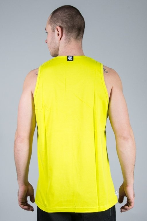 STOPROCENT TANK TOP VERT TOXIC YELLOW