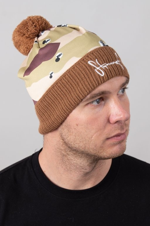 STOPROCENT WINTER CAP DESERT BROWN