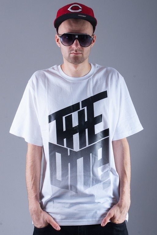 THE ONE KOSZULKA GRADIENT WHITE