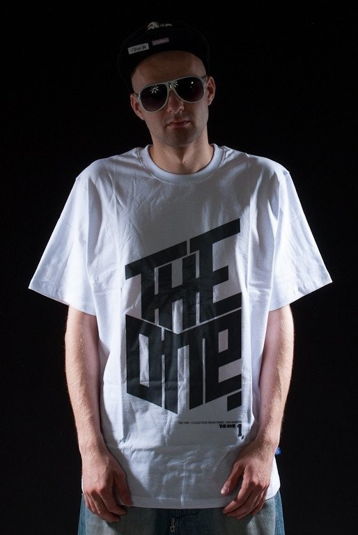 THE ONE KOSZULKA LOGO WHITE