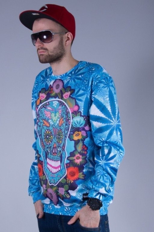 THERAPIA BLUZA BEZ KAPTURA STONED SKULLHEAD
