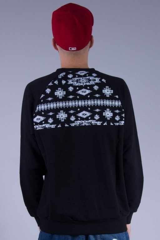 TURBOKOLOR BLUZA BEZ KAPTURA AZTEC BLACK