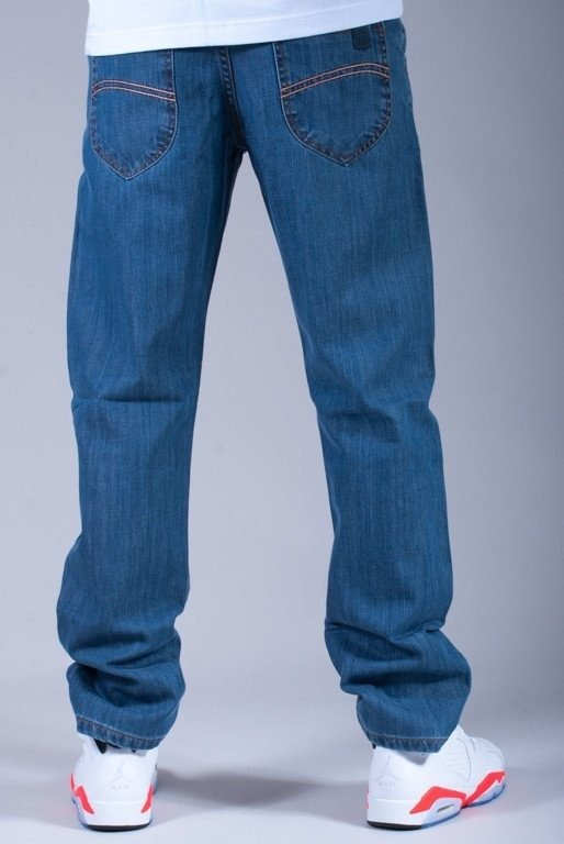 TURBOKOLOR SPODNIE JEANS PRESIDENT SLIM FIT BLUE
