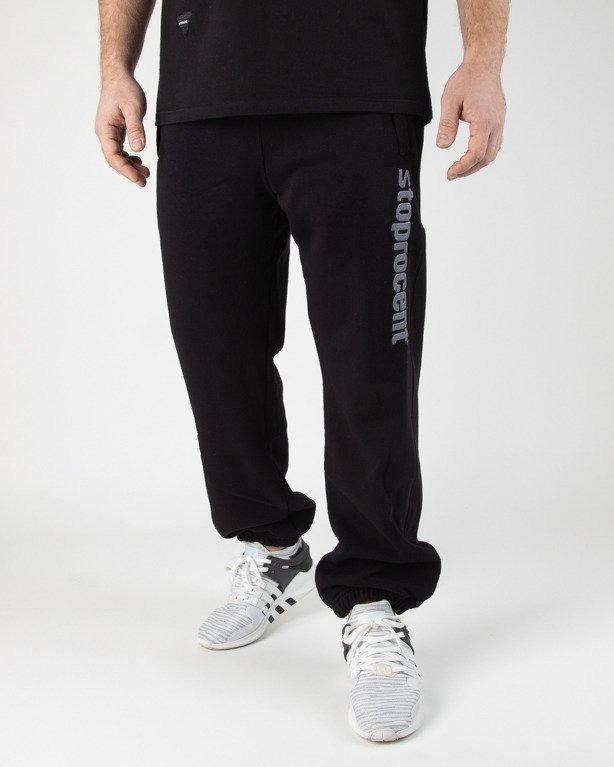 b25cd28aac Spodnie Stoprocent Dresowe Simple Black