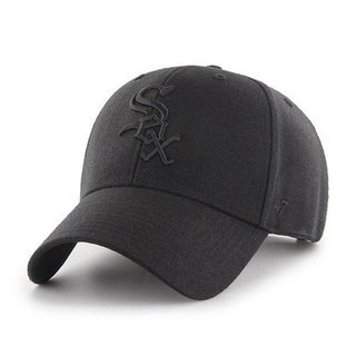 47 BRAND CAP CHICAGO WHITE SOX BLACK-BLACK
