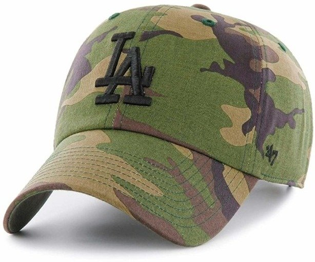 47 BRAND CAP CLEAN UP LOS ANGELES CAMO