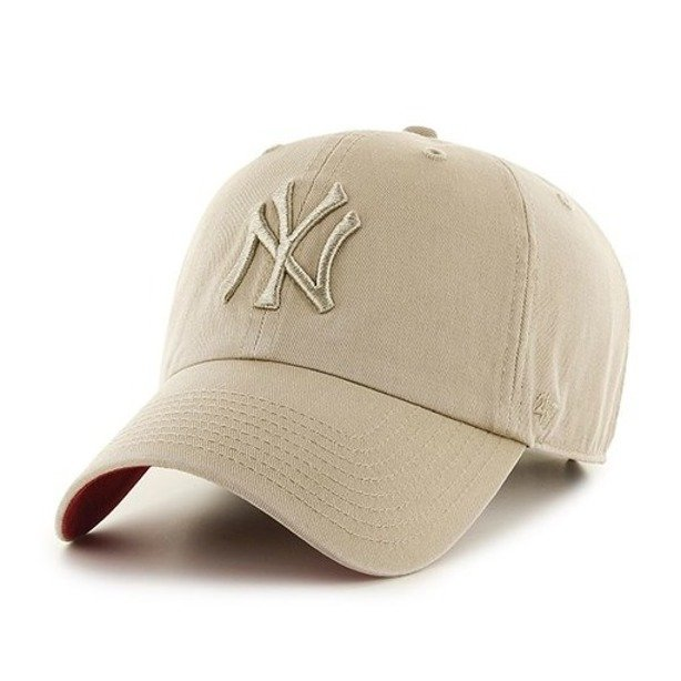 47 BRAND CAP CLEAN UP NEW YORK YANKEES BEIGE