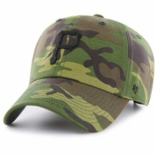 47 BRAND CAP CLEAN UP PITTSBURGH PIRATES CAMO