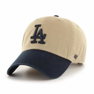 47 BRAND CAP LOS ANGELES DODGERS CLEAN UP BEIGE-NAVY