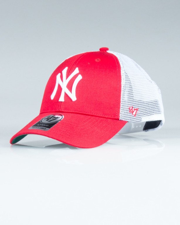 47 BRAND CAP MLB NEW YORK YANKEES BRANSON RED-WHITE