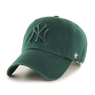 47 BRAND CAP MLB NEW YORK YANKEES CLEAN UP GREEN-GREEN