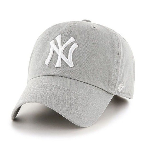 47 BRAND CAP MLB NEW YORK YANKEES CLEAN UP MELANGE