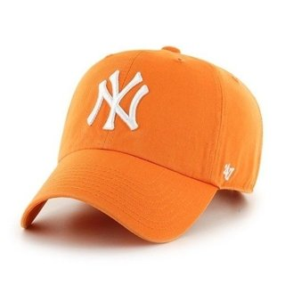 47 BRAND CAP MLB NEW YORK YANKEES ORANGE