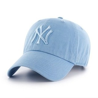 47 BRAND CAP NEW YORK YANKEES CLEAN UP BABY BLUE