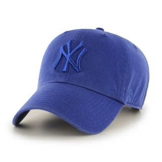 47 BRAND CAP NEW YORK YANKEES CLEAN UP BLUE-BLUE