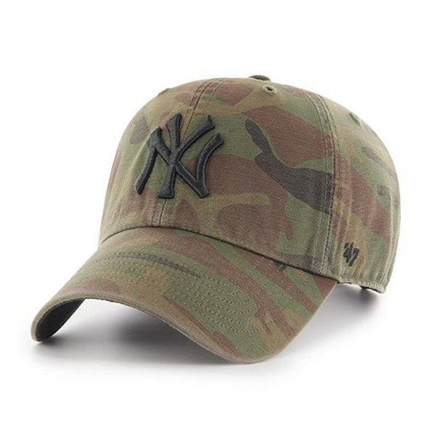 47 BRAND CAP NEW YORK YANKEES CLEAN UP CAMO