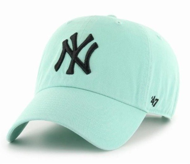 47 BRAND CAP NEW YORK YANKEES CLEAN UP MINT-BLACK