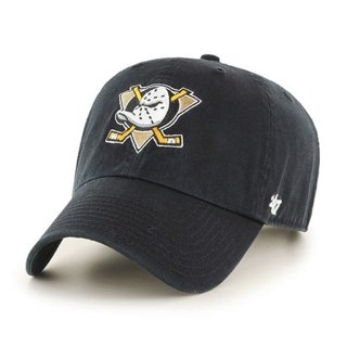 47 BRAND CAP NHL ANAHEIM DUCKS BLACK
