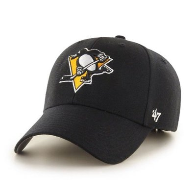47 BRAND CAP NHL PITTSBURGH PENQUINS BLACK