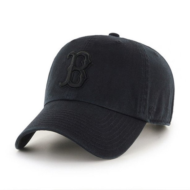 47 BRAND CAP RED SOX BLACK
