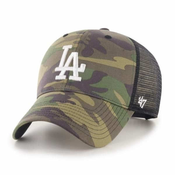 47 BRAND CAP TRUCKER LOS ANGELES CAMO