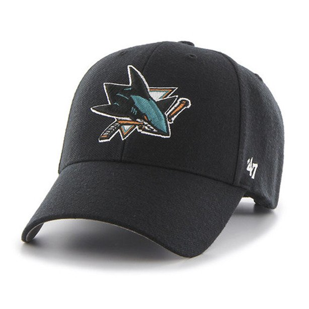 47 BRAND SNAPBACK NHL SAN JOSE SHARKS BLACK
