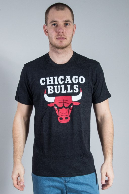 47 BRAND T-SHIRT CLUB MENS JET CHICAGO BULLS BLACK