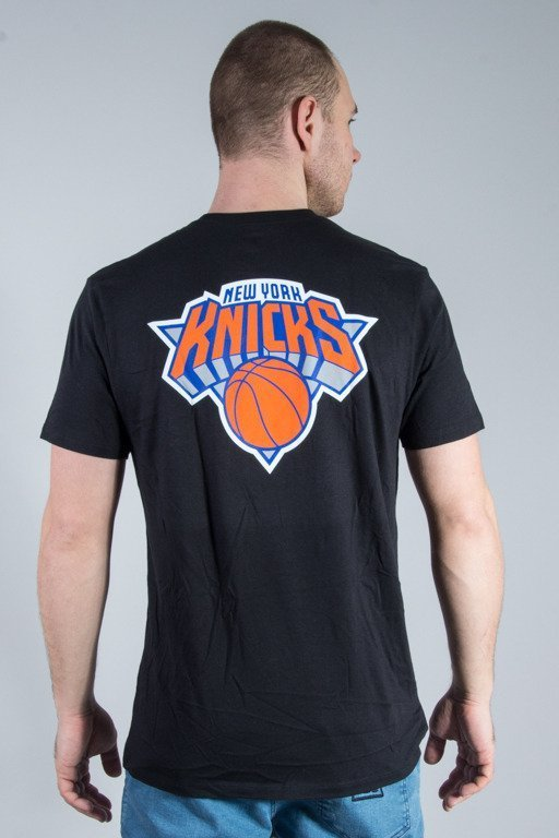 47 BRAND T-SHIRT MVP SPLITTER NEW YORK KNICKS BLACK
