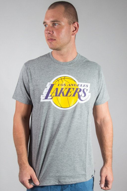 47 BRAND T-SHIRT NBA LOS ANGELES LAKERS GREY