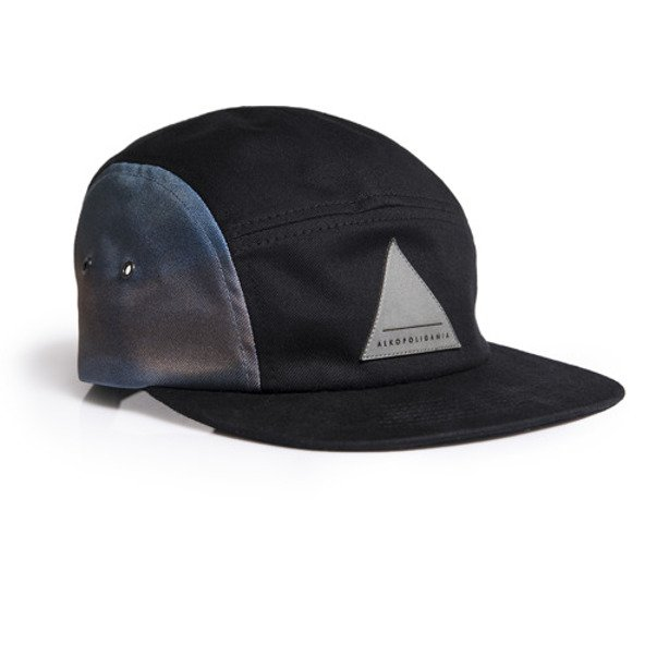 ALKOPOLIGAMIA CAP 5PANEL BLACK-BLINDED