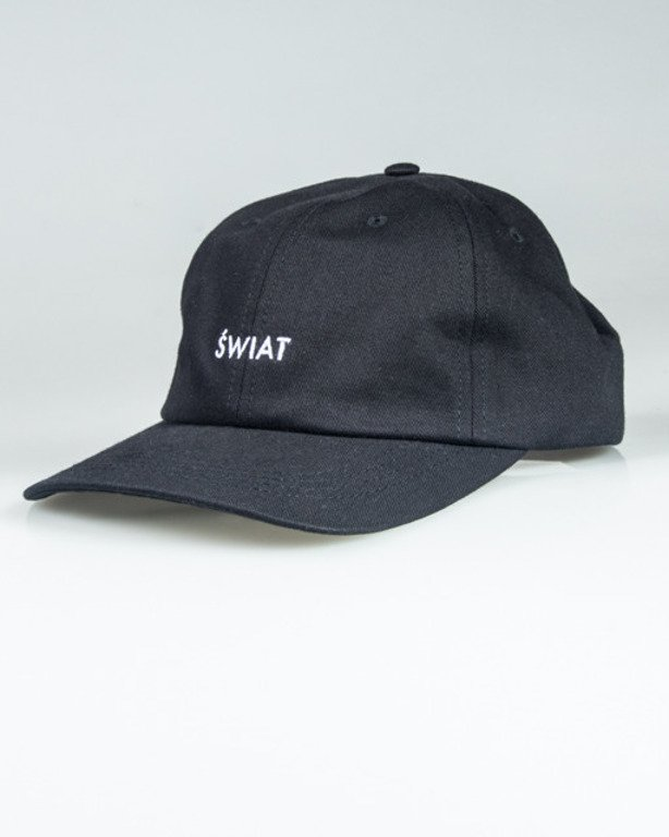 ALKOPOLIGAMIA CAP 5PANEL ŚWIAT BLACK