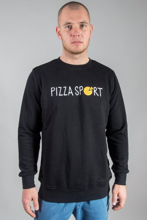 ALKOPOLIGAMIA CREWNECK PIZZA\'S SPORT BLACK