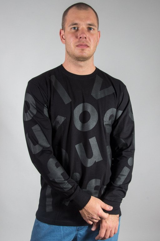 ALKOPOLIGAMIA LONSLEEVE DROP BLACK