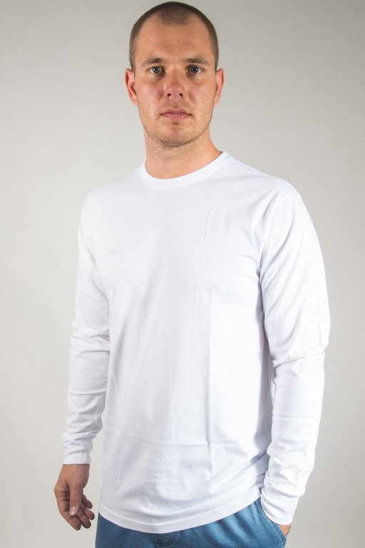 ALKOPOLIGAMIA LONSLEEVE DROP WHITE