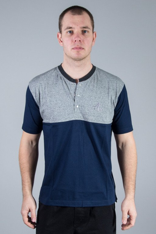 ALKOPOLIGAMIA POLO Aa\' GREY-NAVY