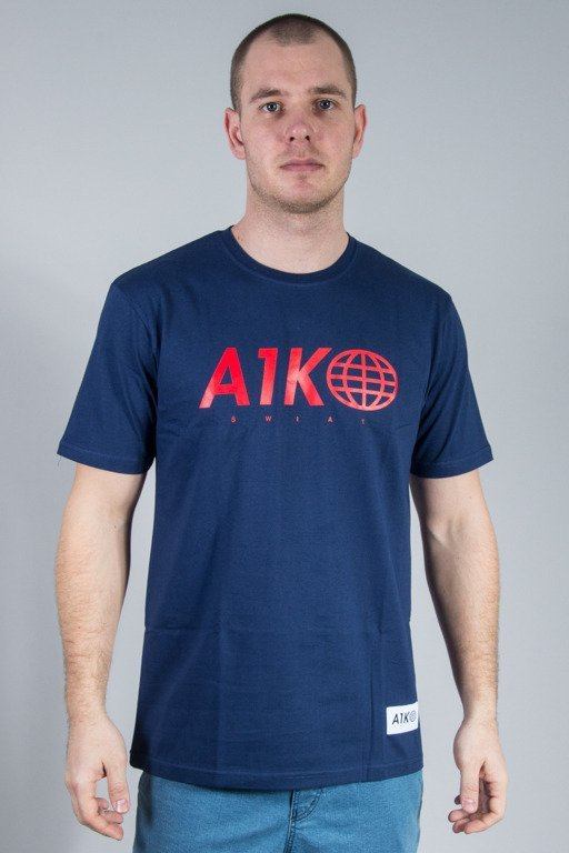 ALKOPOLIGAMIA T-SHIRT A1K0  NAVY