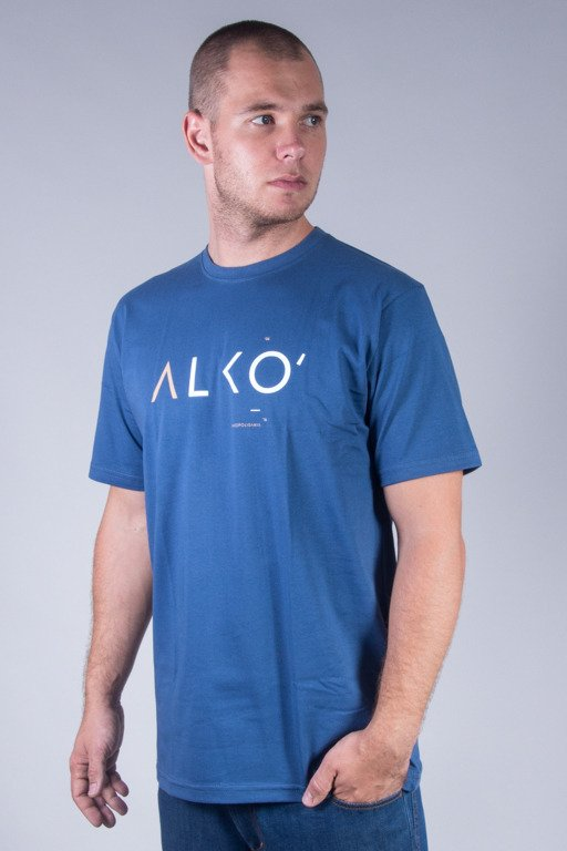 ALKOPOLIGAMIA T-SHIRT ALKO BLUE