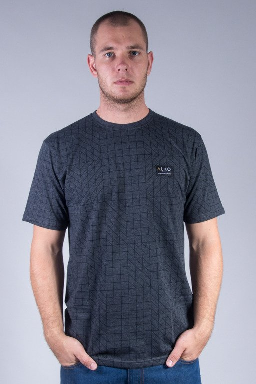 ALKOPOLIGAMIA T-SHIRT ALKO PATTERN GREY