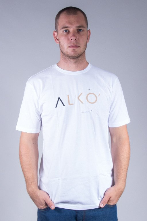 ALKOPOLIGAMIA T-SHIRT ALKO WHITE