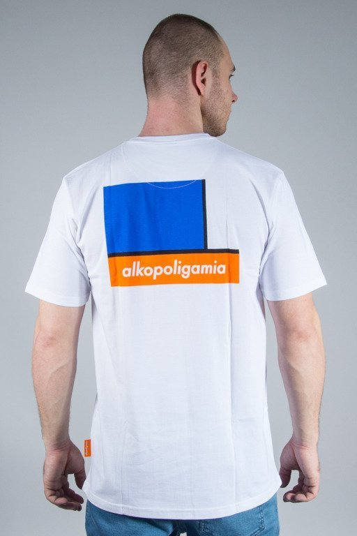ALKOPOLIGAMIA T-SHIRT FLAME WHITE