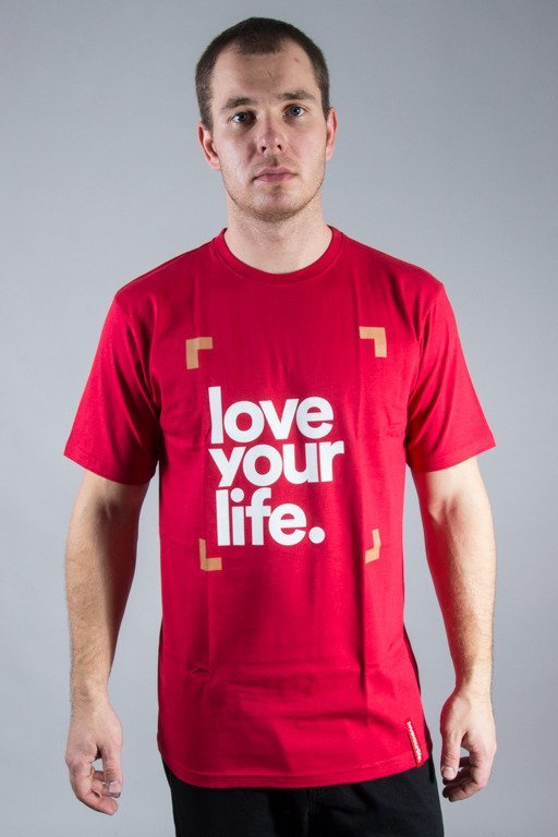 ALKOPOLIGAMIA T-SHIRT LYL FRAME RED
