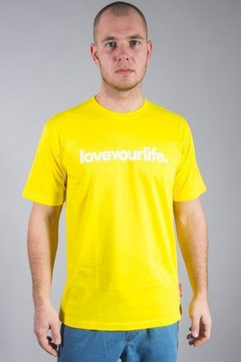 ALKOPOLIGAMIA T-SHIRT LYL YELLOW