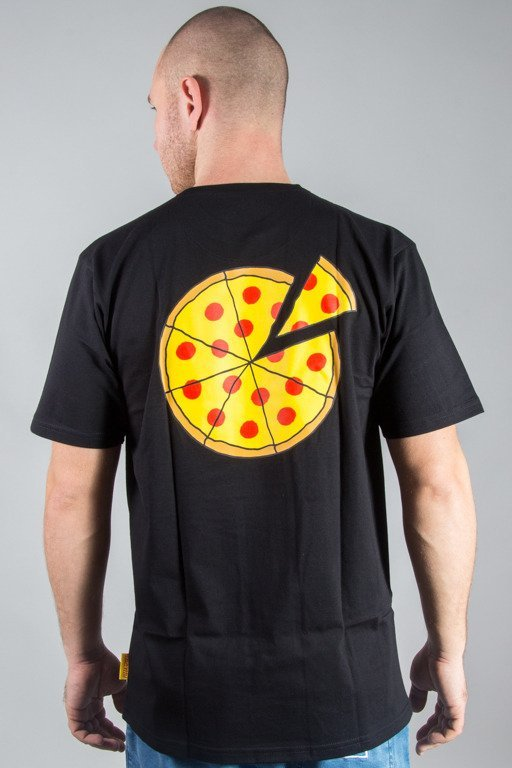 ALKOPOLIGAMIA T-SHIRT PIZZA SPORT SMALL BLACK
