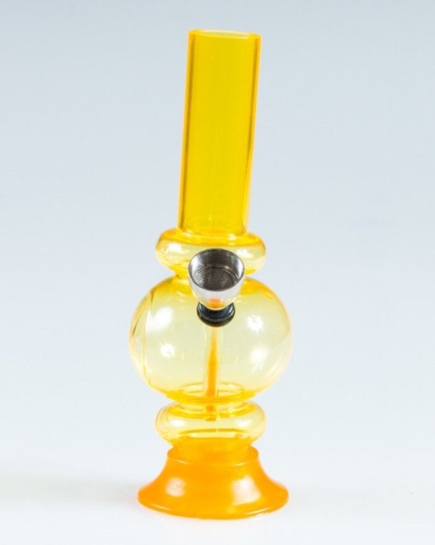 BONGO AKRYLOWE BONG MINI YELLOW
